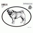 Intrepid International Dog Decal - Pug