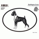 Intrepid International Dog Decal - Boxer