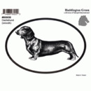 Intrepid International Dog Decal - Dachshund