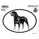 Intrepid International Dog Decal - Rottweiler