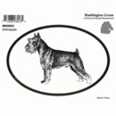 Intrepid International Dog Decal - Schnauzer