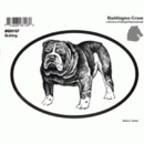 Intrepid International Dog Decal - Bulldog