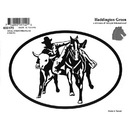 Intrepid International Decal - Steer Wrestler