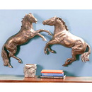 Forge Hill Horse Wall Sculptures Set of 2