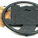 IWGAC 0166-10204 Cast Iron Barn Trivet