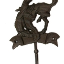 IWGAC 0170S-01671 Cast Iron Rider Hook Set of 2