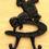 IWGAC 0170S-15006 Cowboy 2 Hooks Set / 6