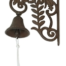 IWGAC 0184S-0101 Cast Iron Wall Mount Bird Bell