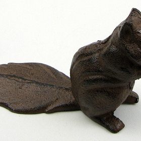 IWGAC 0184S-0128 Squirrel Cast Iron Door Stop