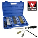 38 Pcs Industrial Quality Wire Brush Set w/ Extra Long Reach - Nk # 00325A
