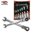 7 Pcs Metric Flex Gear Wrench Set - Nk # 03628L