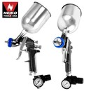 1.3mm HVLP Gravity Feed Air Spray Gun w/ Gauge - Nk # 31213A