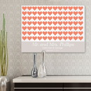 JDS CA0042 For the Love of Hearts Canvas