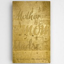 JDS CA0117 Mothers Gold Canvas Sign