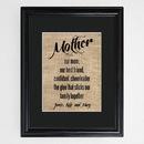 JDS GC1289 Mother's Framed Print
