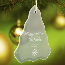 JDS Personalized Tree Christmas Ornament