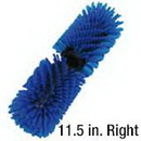 RQE4BL Blue 11.5 in. Brush, Right