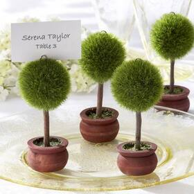 Kate Aspen Topiary Photo Holder/Place Card Holder (Set of Four)