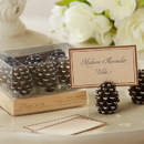 Kate Aspen 25119NA Pinecone Place Card/Photo Holders (Set of 6)