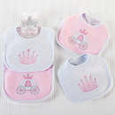 Baby Aspen BA15069PK Little Princess Bibs
