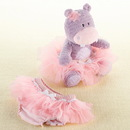 Baby Aspen BA15114NA Lady Lulu and Baby's Tutu Plush Plus & Bloomer for Baby