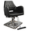 "KELLER K1108 Modern Styling Chair, Black/Square, Travel Range 19""-23.5"""