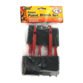 Foam paint brush set, Price/package