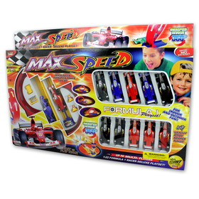 Formula 1 racing playset, Price/package