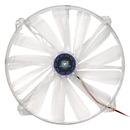 Kingwin CFBL-020LB 200 x 200mm Long-Life Bearing BLUE LED Case Fan