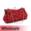 Toptie Asymmetric Frame Sequin Clutch - Wholesale