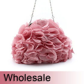 Petal Design Cute Purse Evening Handbag - Wholesale