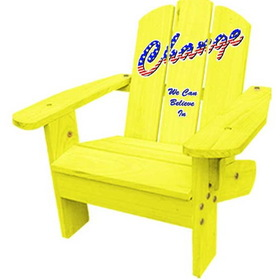 Lohasrus Kids Adirondack Chair in Yellow
