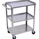 Luxor SSC-3 Stainless Steel 3 Shelf Cart