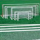 Kwik Goal Dlx Pntd European Club Goal - 4'H x 6'W x 2'D x 4 1/4'B