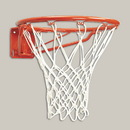 Bison BA28 Magnum Heavy - Duty Front Mount Fixed Basketball Goal