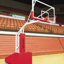 Bison T - Rex 66 Side Court Portable Adjustable Basketball System