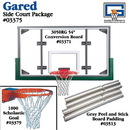 Gared Side Court Package