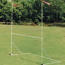 High School Portable Football/Soccer Goal Post w/ Wheels - 20'H x 23'4