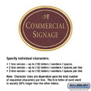 Salsbury Industries 1530MGD2 Commercial Sign - Oval - Surface Mounted - Maroon Sign - Gold Characters - Daisy - 2 Sided