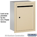 Salsbury Industries 2245SU Letter Box - Standard - Recessed Mounted - Sandstone - USPS Access