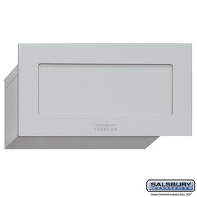 Salsbury Industries 2255ALM Mail Drop - Aluminum