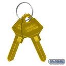 Salsbury Industries 2299 Key Blanks - for Standard Locks of Aluminum Mailboxes - Box of (50)