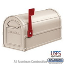 Salsbury Industries 4850BGE Heavy Duty Rural Mailbox - Beige