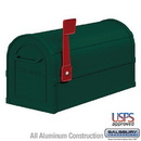 Salsbury Industries 4850GRN Heavy Duty Rural Mailbox - Green