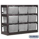 Salsbury Industries 77709-A Basket Locker - Assembled