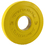 MuscleDriver USA 1KGR15 Pendlay 1kg Rule Yellow Rubber Change Plate 1.5kg (pair)