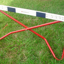 "MuscleDriver USA MCSH Collapsible Scissor Hurdle - Adjusts from 9""-42"""