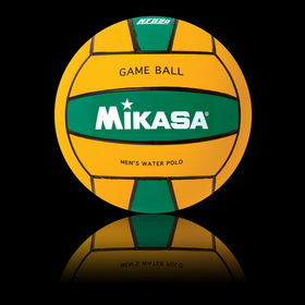 Mikasa Competition game ball, men's size, yellow/green