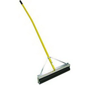 """Midwest Rake 70636 36"""" Roller Squeegee, Non-Absorbent, 60"""" Bent Yellow Aluminum Handles, Price/each"""