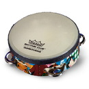 Remo Rhythm Club Tambourine with 4 Sets Jingles 6-by-1.75-Inch